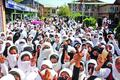 Students hold protest in Banihal; block highway