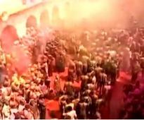 Holi begins with fervour fanfare; President,PM greets nation