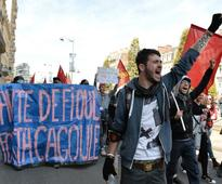 Anti-reform protests hit France