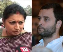 Twitter spat: Smriti Irani calls NSUI members 'goons', challenges Rahul Gandhi to debate
