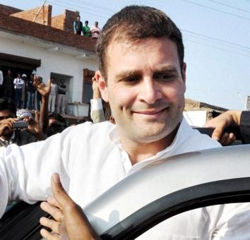 On Modi's turf, Rahul likens him to Hitler