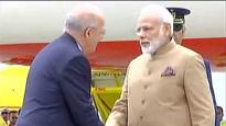 PM Modi arrives in Lisbon, to meet Portugal PM
