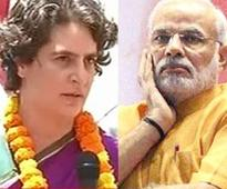 Priyanka escalates attack on BJP, tears into Modi over 'snoopgate'