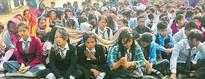CBSE students protest Numerous students likely to miss Class X, XII exams