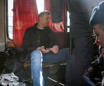 Russian police detain opposition leader Navalny at Moscow protest