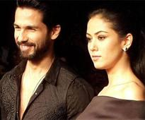 Wishes pour in for Shahid and Mira