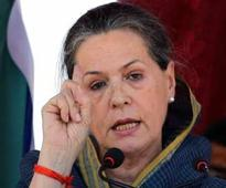 Sonia Gandhi to address rallies in Kheralu and Valsad in Gujarat