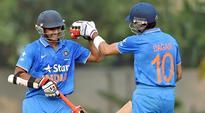 Sarfaraz Khan leads the way as India U-19 canter to tri-series win