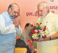 BJP priming itself for polls