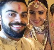 Congratulate Virat and Anushka!