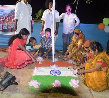 At stroke of midnight, 15000 Bangladeshis became Indian