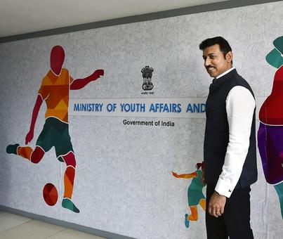 It's upto WADA to dope-test Indian cricketers: Rathore
