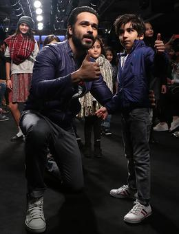 Emraan's son turns showstopper for Diesel