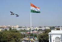 Delhi gets its highest monumental flagpole of 207 feet