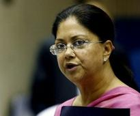 Rajasthan: Vasundhara Raje sworn in as Chief Minister