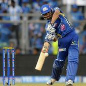 LIVE IPL 8: MI v/s DD - MI soldier on with Rohit Sharma