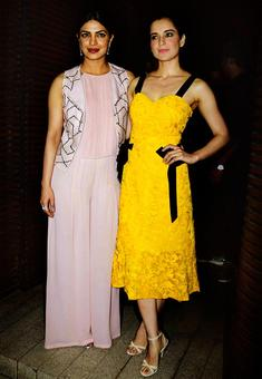PIX: Kangana, Rekha party with Priyanka