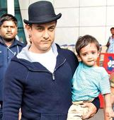 Aamir Khan's son Azad to watch DHOOM 3, his first Bollywood film - News