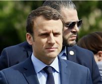 Emmanuel Macron promises tough talk ahead of first meeting with Vladimir Putin