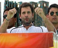 Live reporting: Rahul Gandhi addresses rally in Rajasthan