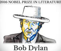 Bob Dylan mum after getting Nobel Prize, academy member calls his silence 'arrogant'