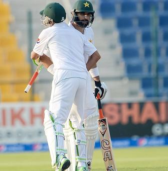 Pakistan take control of second Test v West Indies
