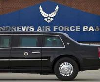 Report of shooter at Andrews Air Force Base was false alarm