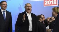 Putin re-elected for another 6 yrs