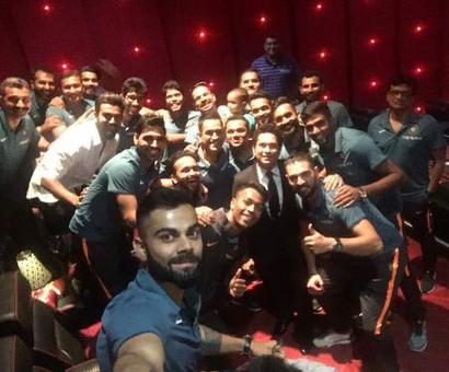 Sachin shares 'lasting image' of Team India ahead of film release