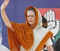 BJP asks EC to stop Sonia from airing messages on DD, AIR