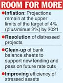 Prices remain key to rate cut