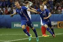 Iceland erupts at Euro 2016 in snub to Ronaldo