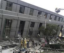 Magnitude 6.4 earthquake strikes Taiwan