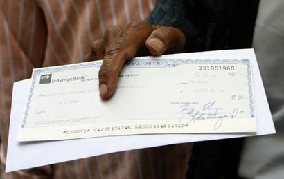 Cheque books to be banned?