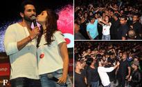 Shaandaar Shahid Kapoor and Alia Bhatt promote their upcoming film with fans