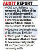 RIL can't get back $970 million invested in KG-D6, CAG says