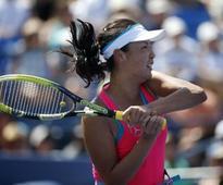 China's Peng upsets fourth seed Radwanska