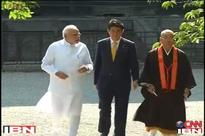 PM Modi visits Toji temple with Shinzo Abe on his second day in Japan