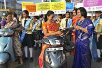 SSVM World School students create awareness on women empowerment