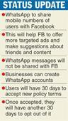 WhatsApp tweaks privacy policy