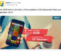 Moto X (2nd gen) with 32GB storage to launch in India on 22 December
