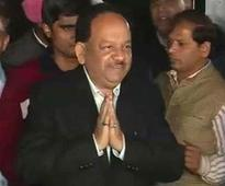 Central Vigilance Commission Rejected Chaturvedi's Name Twice: Harsh Vardhan