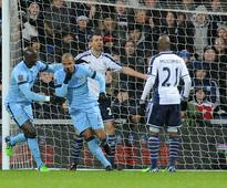 Manchester City beat West Brom 3-1, keep pressure on Chelsea