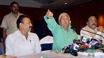 BJP Makes It a 'Thrashday' for Lalu
