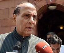 Open for dialogue with anyone, within constitutional framework: Rajnath