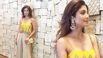 See pictures: Shilpa Shetty looks resplendent in yellow at Bipasha Basu's mehendi ceremony