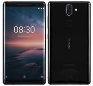 Nokia 8 Sirocco Android One smartphone with 5.5-inch Quad HD OLED display, 6GB RAM, dual rear cameras announced