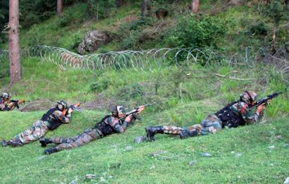 Army porter killed as Pak violates ceasefire in Keran