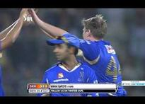 Royals lose Dravid early in chase of 133