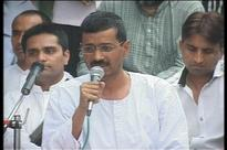 District officials briefly stop Kejriwal's roadshow, issue challan